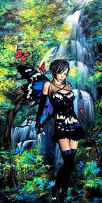 #ファンタジー#蝶の妖精の画像(幻想的に関連した画像)