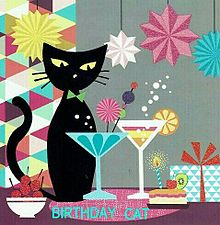 BIRTHDAY  CAT  (説明文 必読)の画像(プリ画像)