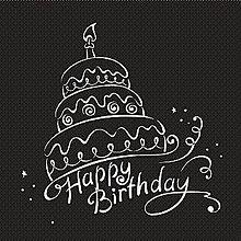 HAPPY  BIRTHDAY*バースデーケーキ(説明文 必読)の画像(プリ画像)