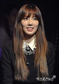 少女時代 소녀시대 SNSD Girls' Generation TaeYeon ( ´=ิ◞౪◟=ิ`) テヨン 태연 太妍 5歳児  プリ画像