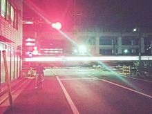 列車通過の画像(照明に関連した画像)