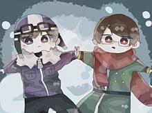 暖かそうな2人。の画像(wrwrdに関連した画像)