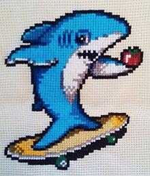 BUMPサメ プリ画像