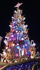 ユニバのクリスマスツリーの画像(幻想的に関連した画像)