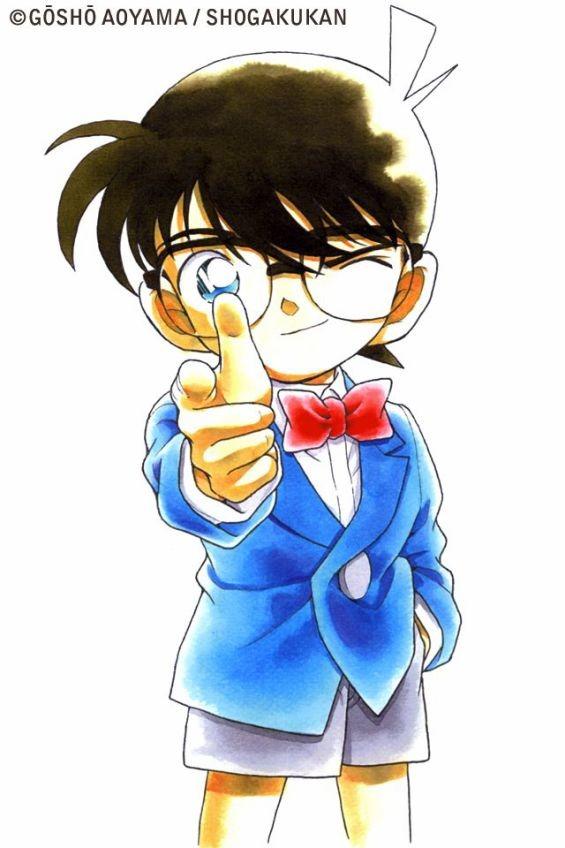 指さしをする江戸川コナン(その3)