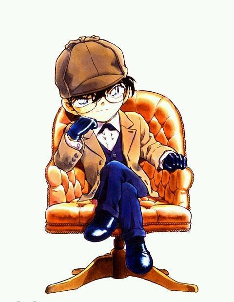 探偵姿の江戸川コナン