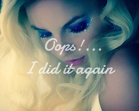 Oops!...I did it again Britneyの画像(プリ画像)