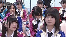 AKB48選抜総選挙 若田部遥 山田麻莉奈 朝長美桜 深川舞子の画像(プリ画像)