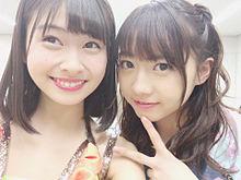 松岡はな 木崎ゆりあ AKB48選抜 シュートサイン HKT48の画像(プリ画像)