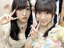 田島芽瑠 矢吹奈子 HKT48 AKB48の画像(プリ画像)