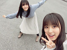 HKT48 田島芽瑠 矢吹奈子の画像(プリ画像)