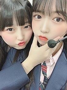 石橋颯 hkt48 水上凜巳花 プリ画像
