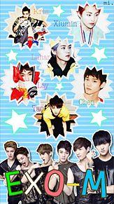 EXO-M プリ画像