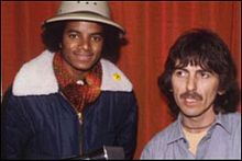 Michael Jackson George Harrisonの画像(ジョージ・マイケルに関連した画像)