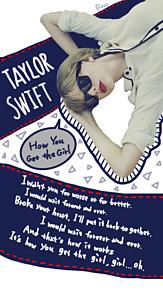 Taylor Swift How you get thegirlの画像(プリ画像)