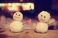 雪だるま 冬 きれい かわいい 季節 画像の画像(プリ画像)
