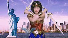 ワンダーウーマン  S ♡☆ 広瀬すず  双剣  自由の女神の画像(ワンダーウーマンに関連した画像)