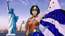 ワンダーウーマン  S ♡☆ 広瀬すず  自由の女神の画像(ワンダーウーマンに関連した画像)