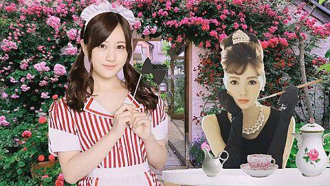 乃木坂46ガーデンカフェ ♡ 白石麻衣 X メイド 星野みなみの画像 プリ画像