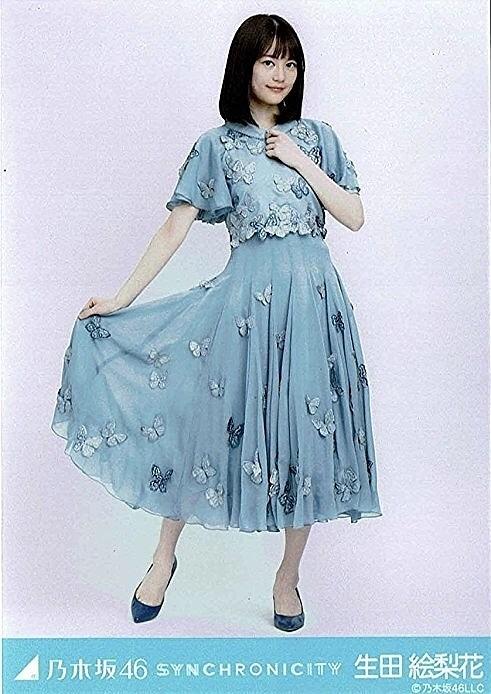 水色の蝶の衣装似合っています。生田絵梨花(乃木坂46)の画像です。