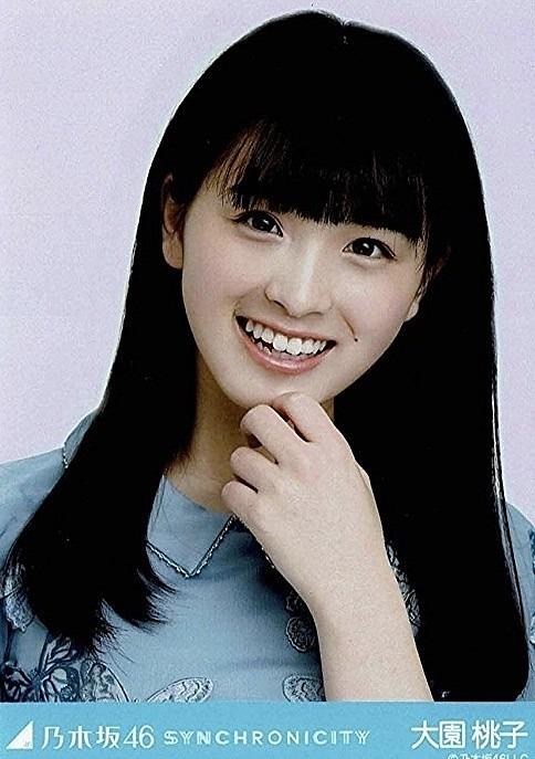 笑顔がかわいい大園桃子です。