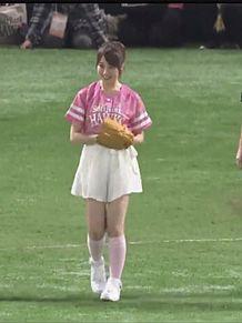 衛藤美彩 乃木坂46 プロ野球 始球式の画像(始球式に関連した画像)