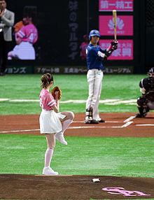 始球式 プロ野球 衛藤美彩 乃木坂46の画像(始球式に関連した画像)