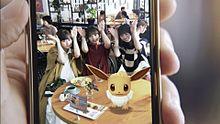 乃木坂46 Pokémon GO 山下美月 与田祐希 遠藤さくら プリ画像