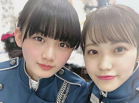 欅坂46 山﨑天 松田里奈 1.40の画像 プリ画像
