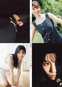 河田陽菜 日向坂46 週刊ヤングジャンプの画像(河田陽菜に関連した画像)