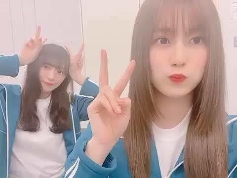 欅坂46 渡辺梨加 守屋茜 1.01 メッセ動画verの画像 プリ画像