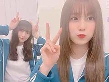 欅坂46 渡辺梨加 守屋茜 1.01 メッセ動画verの画像(動画に関連した画像)