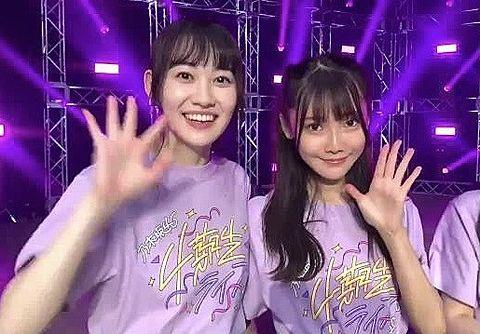 乃木坂46 4期生ライブ 松尾美佑 黒見明香の画像 プリ画像