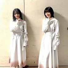 森田ひかる 藤吉夏鈴 紅白 櫻坂46の画像(紅白に関連した画像)