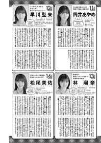 乃木坂46 週刊ヤングジャンプの画像(松尾美佑に関連した画像)
