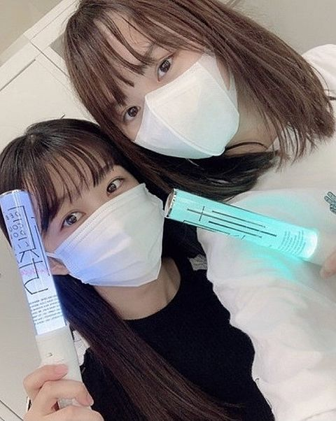 backslive 櫻坂46 原田葵 増本綺良 1.64の画像 プリ画像