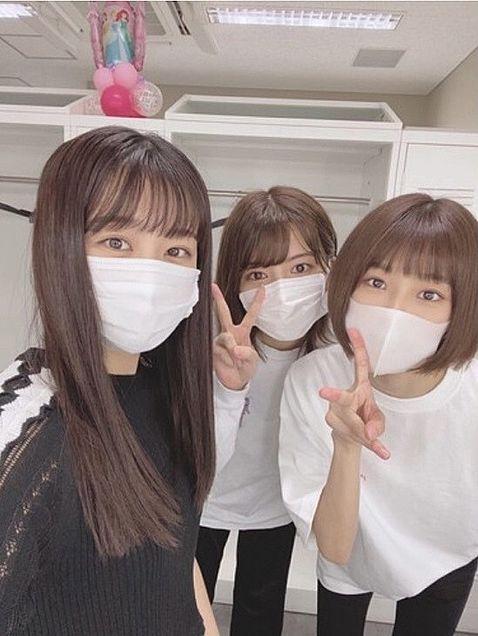 backslive 櫻坂46 原田葵 井上梨名 1.10の画像 プリ画像