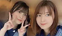 森田ひかる 櫻坂46 関有美子 1.44 ローソン プリ画像