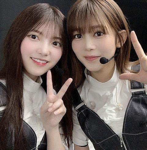 櫻坂46 w-keyakifes 上村莉菜 1.6 尾関梨香の画像 プリ画像