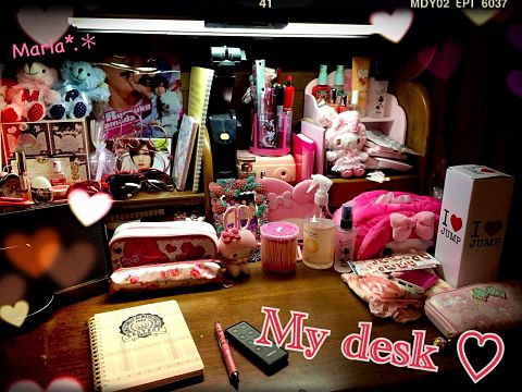 *.* My desk *.*の画像(プリ画像)