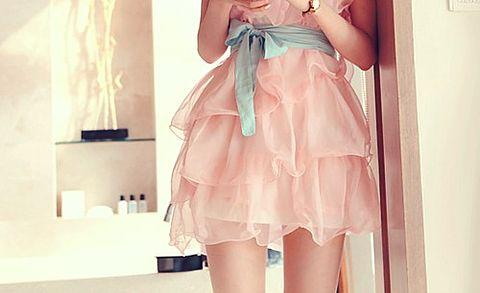 素材 女の子 ドレス ピンク かわいいの画像 プリ画像