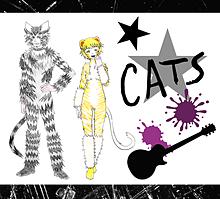 CATSのマンカストラップとシラバブ プリ画像