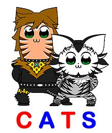 CATS(劇団四季)ポプテピピック風 プリ画像