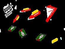 【デカールセット 】VF-8A 宇宙ローガン 【国籍マーク】の画像(戦闘に関連した画像)
