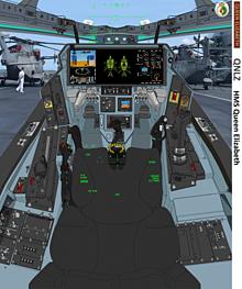 空母クィーンエリザベス艦上のオーロランの画像(空に関連した画像)