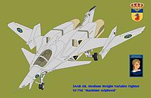VF-7NE マリタイム・シルフィード スウェーデン空軍の画像(シルフィーに関連した画像)