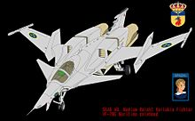 翼端ポッド付き VF-7NEM マリタイム・シルフィードの画像(スウェーデンに関連した画像)