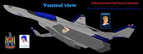 F-206 ファルコンII 重迎撃機の画像 プリ画像