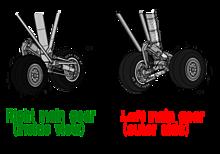 縦列・食い違い配置主脚 for 可変戦闘機オーロランの画像(縦に関連した画像)