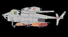 可変戦闘機スーパーオーロランとオーロラ・スターリングの画像(ヘリコプターに関連した画像)